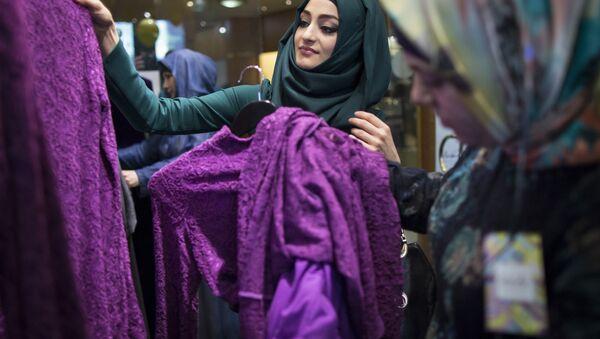Kobiety w hidżabach - Sputnik Polska