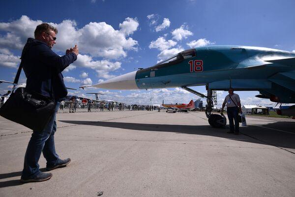 Eksportowa wersja samolotu Su-34 - Sputnik Polska