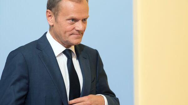 Przewodniczący Rady Europejskiej Donald Tusk. Zdjęcie archiwalne - Sputnik Polska