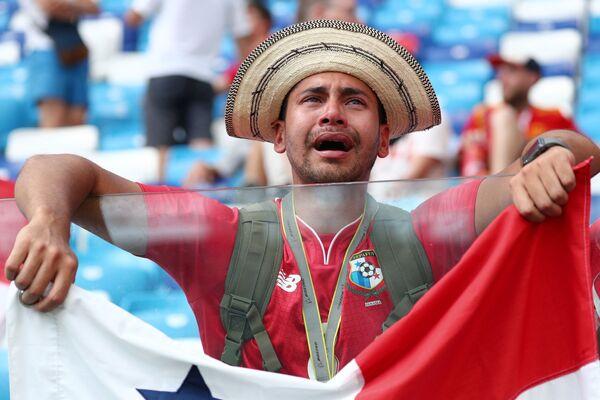 Kibic reprezentacji Panamy na meczu MŚ 2018 Anglia-Panama - Sputnik Polska