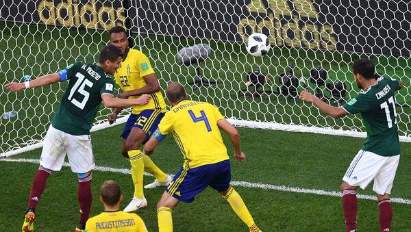 Mecz Meksyk-Szwecja w Jekaterynburgu - Sputnik Polska