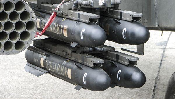 """Amerykański pocisk klasy """"powietrze-ziemia"""" AGM-114 Hellfire - Sputnik Polska"""