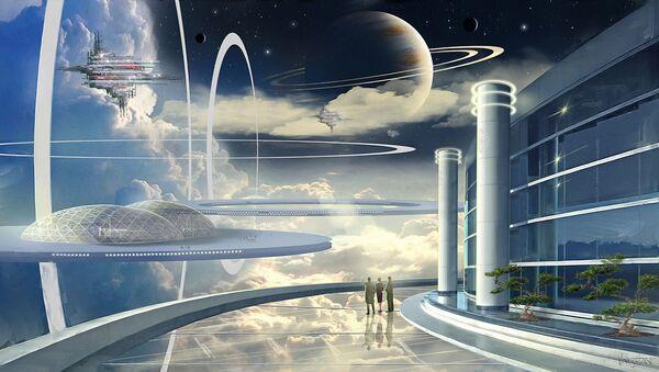 Koncepcja pierwszego na świecie kosmicznego państwa Asgardia - Sputnik Polska