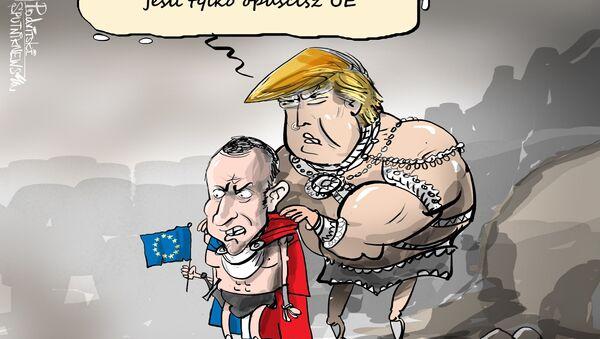 Emmanuel, kim jesteś? Jesteś zwycięzcą! - Sputnik Polska