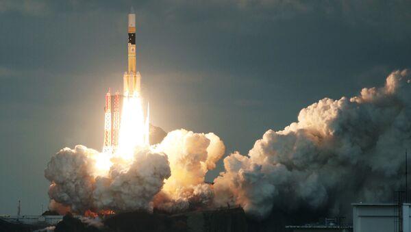Запуск японской ракеты H-IIA со спутником Kirameki-2 с космодрома Танегасима - Sputnik Polska