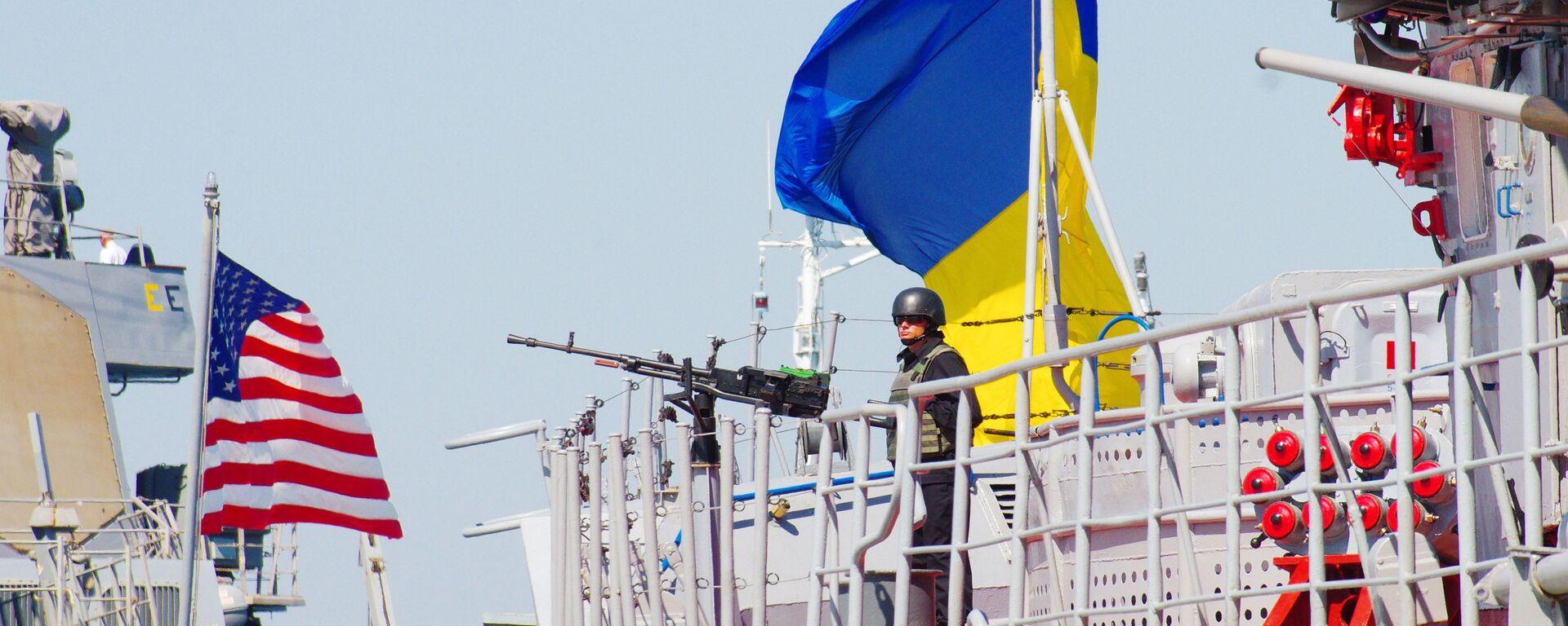 "Amerykańsko-ukraińskie manewry morskie ""Sea Breeze - 2015""  - Sputnik Polska, 1920, 26.06.2021"