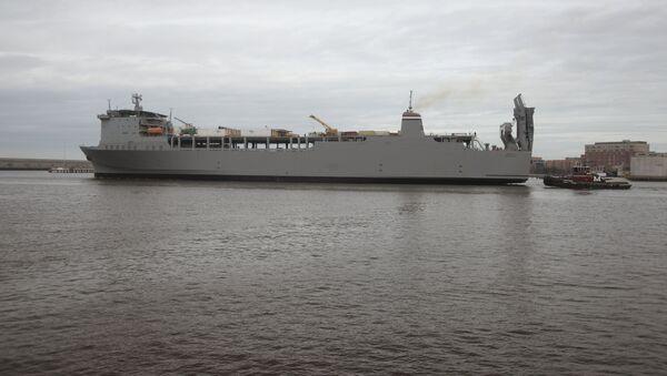 MV Cape Ray - Sputnik Polska