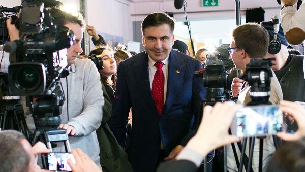 Były gubernator obwodu odesskiego Michaił Saakaszwili - Sputnik Polska