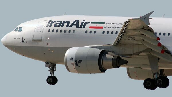 Airbus A300B2-203 Iran Air EP-IBV - Sputnik Polska