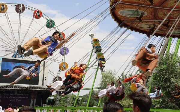 Prywatny park rozrywki w Kabulu - Sputnik Polska