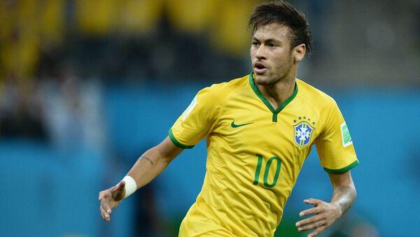 Игрок сборной Бразилии Неймар - Sputnik Polska