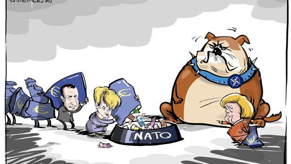 Zrzutka na NATO - Sputnik Polska