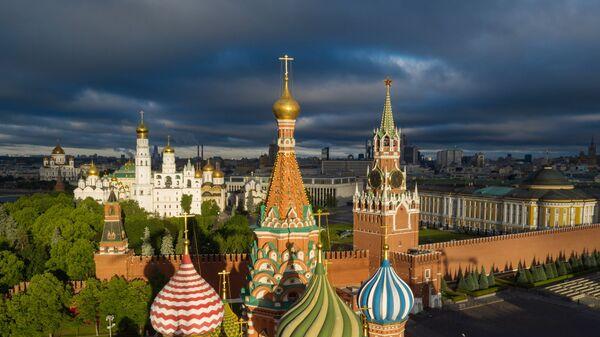 Widok na moskiewski Kreml - Sputnik Polska