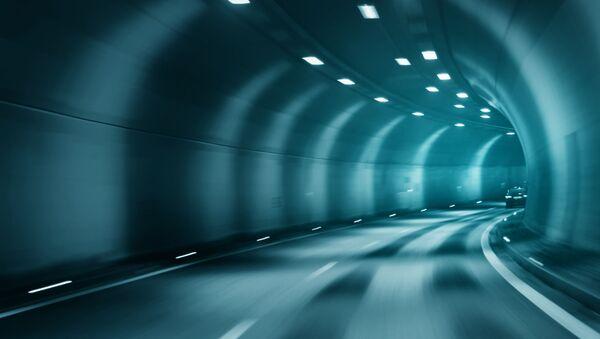 Tunel drogowy - Sputnik Polska