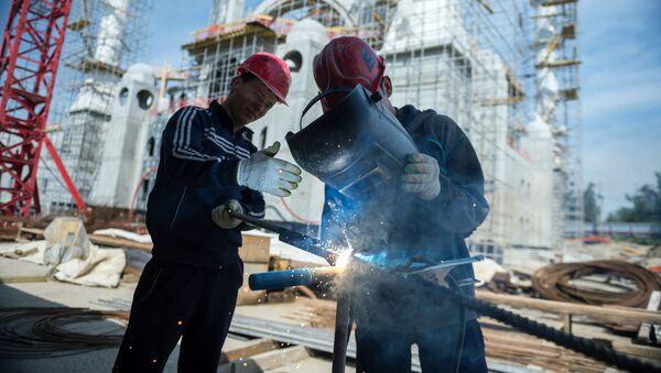 Budowa meczetu w Symerfopolu - Sputnik Polska