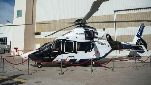 Helikopter firmy Airbus Helicopters - Sputnik Polska