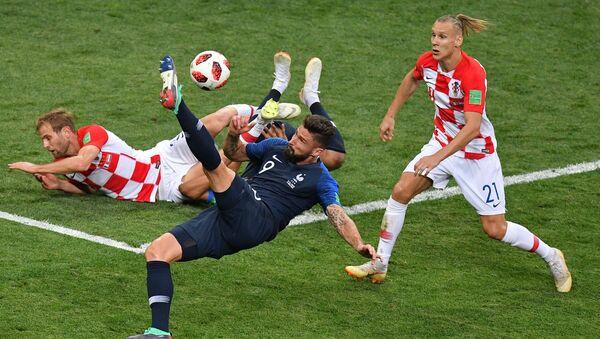 Finałowy mecz MŚ 2018 Francja - Chorwacja - Sputnik Polska