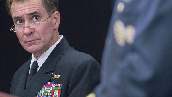 Rzecznik Departamentu Stanu USA John Kirby - Sputnik Polska