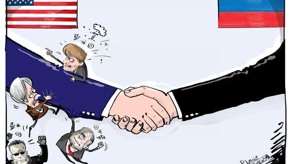 To przecież ręka Kremla! - Sputnik Polska