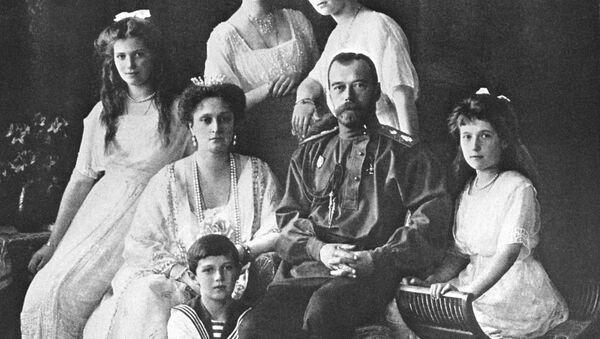 Car Mikołaj II z rodziną - Sputnik Polska