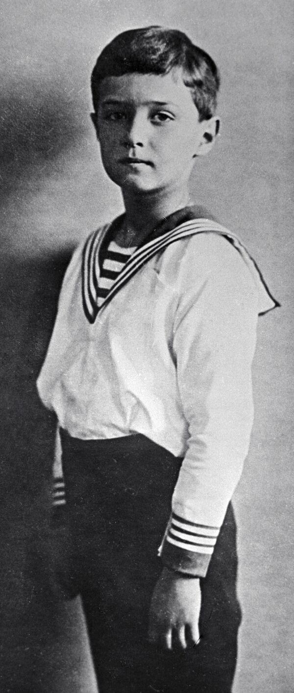 Aleksy - jedyny syn Mikołaja II - Sputnik Polska