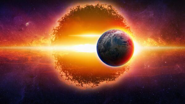 Artystyczna wizja nieznanej planety - Sputnik Polska
