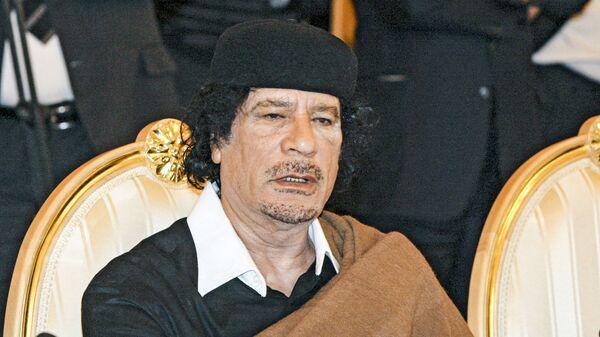 Muammar Kaddafi, 2008 rok - Sputnik Polska