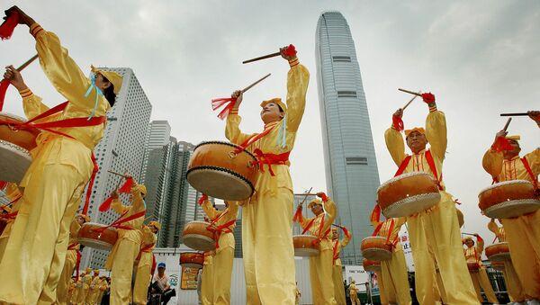 Chińczycy, Hong Kong, 2006 rok - Sputnik Polska