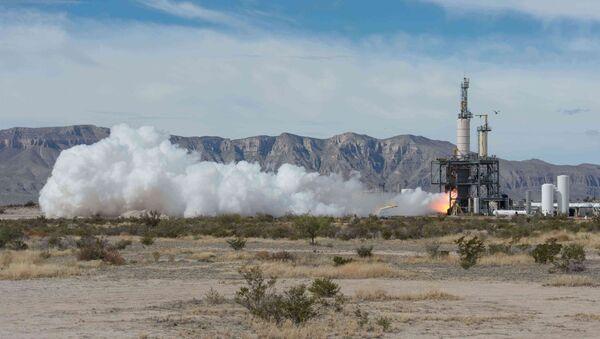 Blue Origin testuje New Shepard - Sputnik Polska