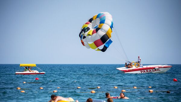 Wypoczynek na plaży - Sputnik Polska