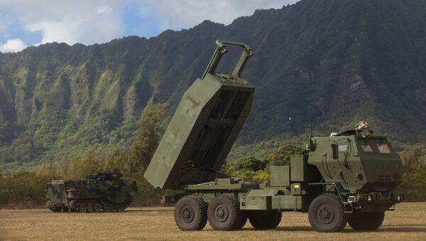 US High Mobility Artillery Rocket System (HIMARS) - Sputnik Polska