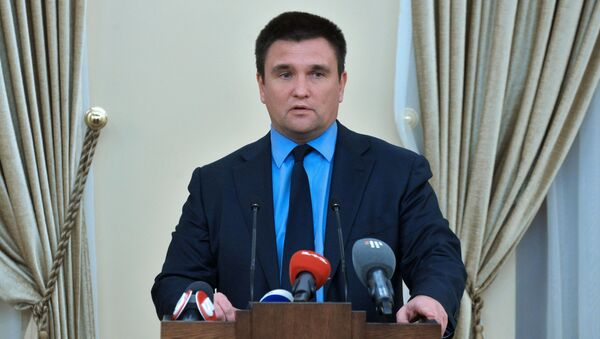 Pawło Klimkin - Sputnik Polska