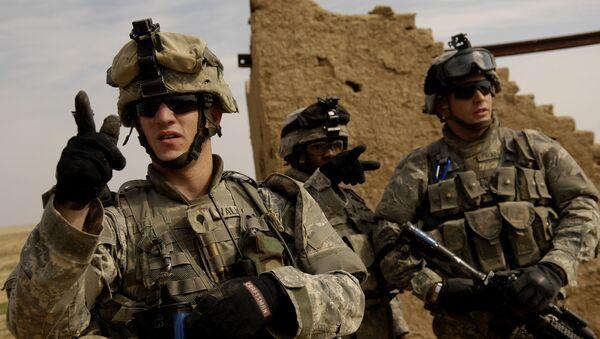 Amerykańscy wojskowi w Iraku - Sputnik Polska