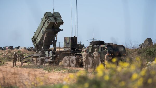Amerykański zestaw antyrakietowy w Izraelu - Sputnik Polska