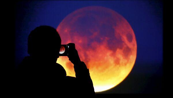 Czerwony księżyc - Sputnik Polska