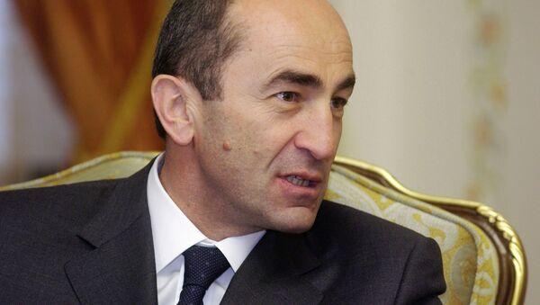 Były prezydent Armenii Robert Koczarian - Sputnik Polska