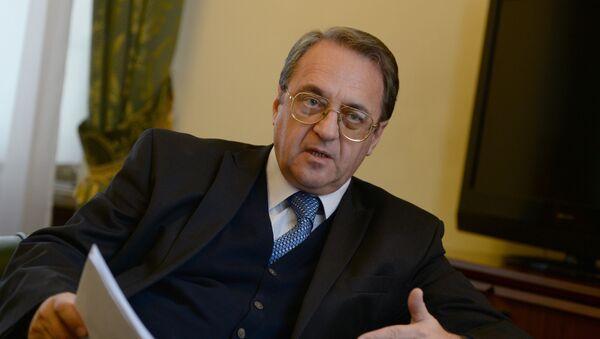 Specjalny przedstawiciel prezydenta Rosji ds. Bliskiego Wschodu Michaił Bogdanow - Sputnik Polska