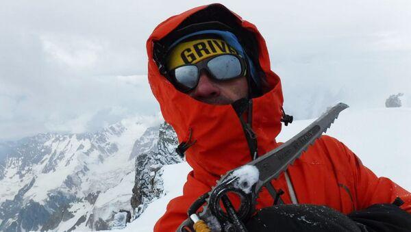 Rosyjski alpinista Aleksander Gukow - Sputnik Polska