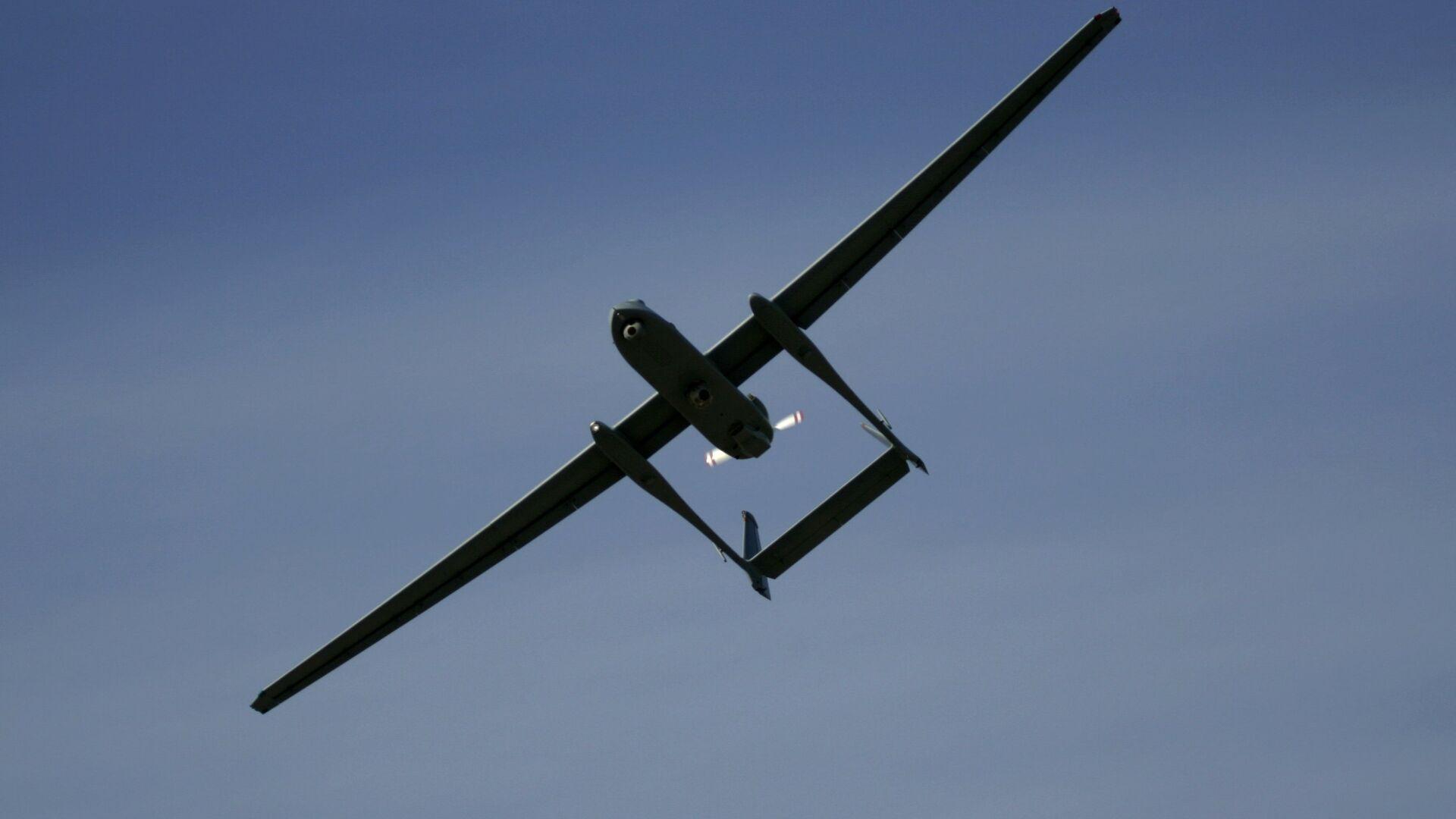 Izraelski dron Heron - Sputnik Polska, 1920, 21.09.2021