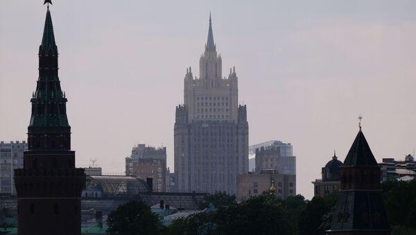 Budynek rosyjskiego ministerstwa spraw zagranicznych - Sputnik Polska