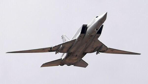 Bombowiec dalekiego zasięgu Tu-22M3 - Sputnik Polska