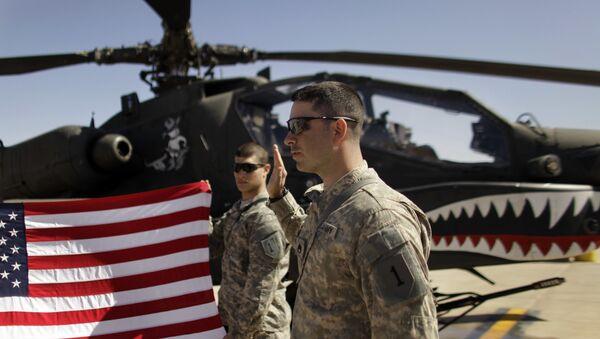 Amerykańskie siły w Iraku - Sputnik Polska