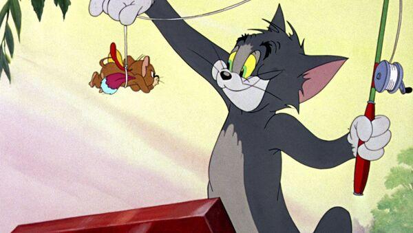 Scena z filmu Tom i Jerry  - Sputnik Polska