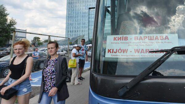 Autobus z Kijowa do Warszawy - Sputnik Polska
