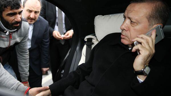 Prezydent Turcji Recep Tayyip Erdogan w Stambule - Sputnik Polska