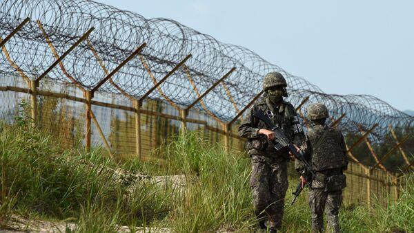 granica koreańska - Sputnik Polska