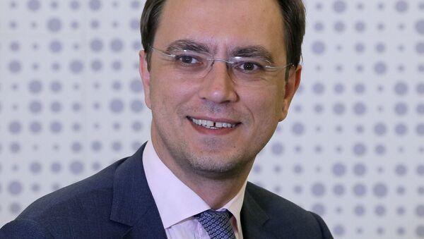Minister infrastruktury Ukrainy Wołodymyr Omelan - Sputnik Polska