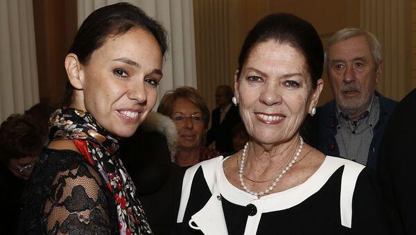 Irina Strozzi z córką Natalią - Sputnik Polska