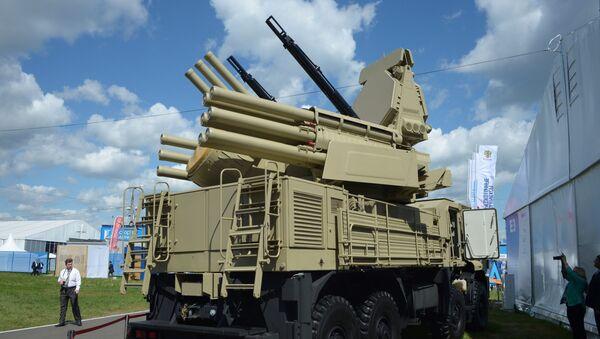 """Przeciwlotniczy zestaw artyleryjsko-rakietowy """"Pancyr-S1 - Sputnik Polska"""
