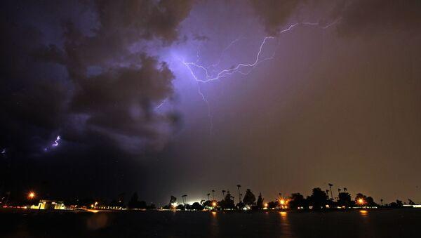 Burza nad Arizoną, USA - Sputnik Polska